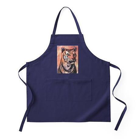 Tiger Print Apron (dark)