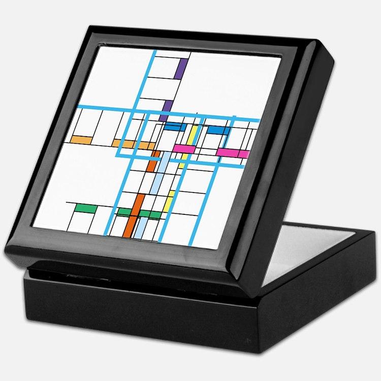 Mondrianopoly Keepsake Box
