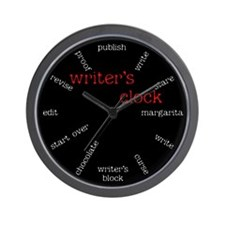 WRITER'S Wall Clock
