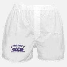 Quarter Horse PROPERTY Boxer Shorts