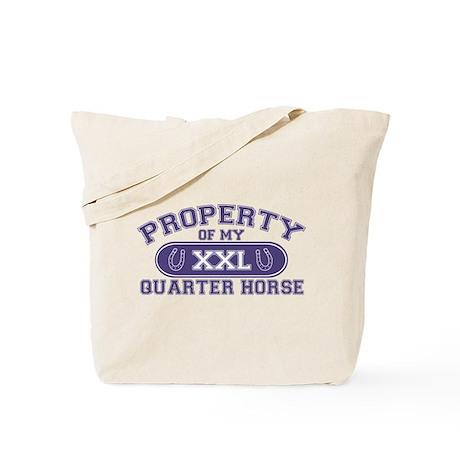 Quarter Horse PROPERTY Tote Bag