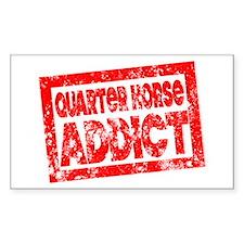 Quarter Horse ADDICT Decal