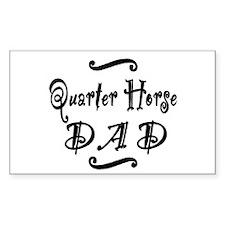 Quarter Horse DAD Decal