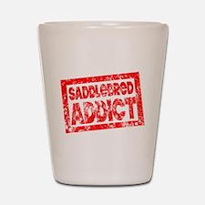 Saddlebred ADDICT Shot Glass