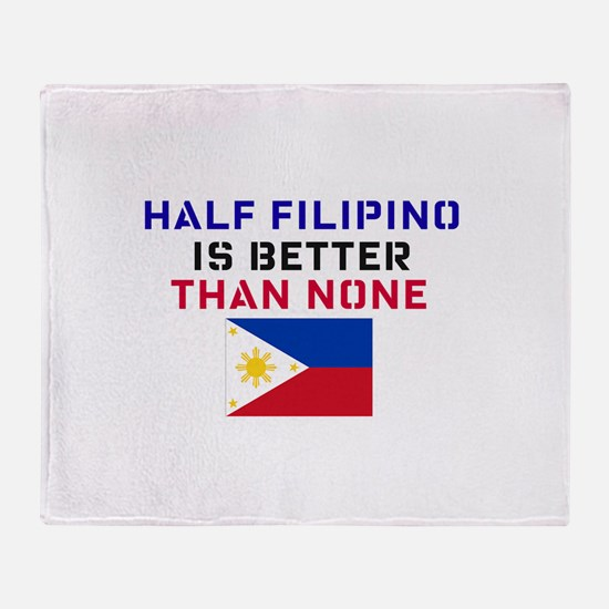 Unique Pinoy Throw Blanket