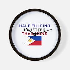 Cute Filipino Wall Clock