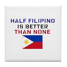 Cute Tagalog Tile Coaster