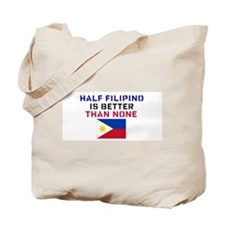 Cute Half asian Tote Bag