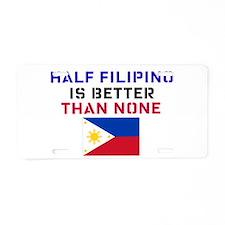 Cute Tagalog Aluminum License Plate
