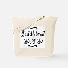 Saddlebred DAD Tote Bag