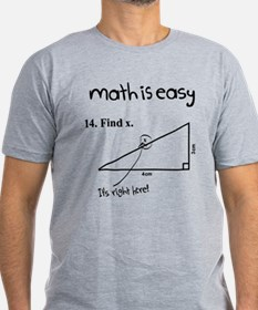 Math is Easy Joke T