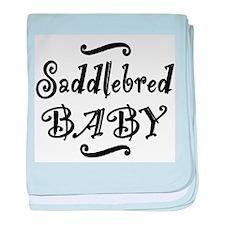 Saddlebred BABY baby blanket
