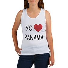 Yo amo Panama Women's Tank Top