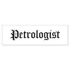 Petrologist Bumper Bumper Sticker