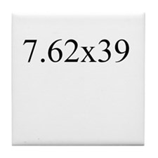 7.62x39 Tile Coaster