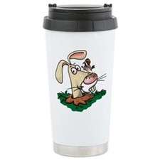 Kestrel and Rabbit Travel Mug