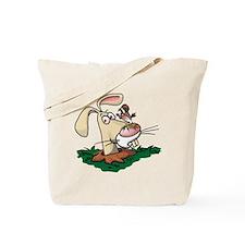 Kestrel and Rabbit Tote Bag