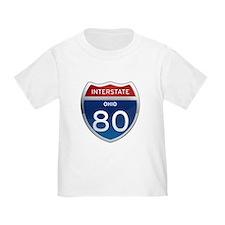 Interstate 80 - Ohio T