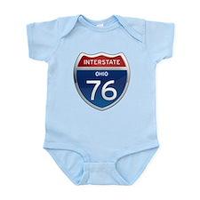 Interstate 76 - Ohio Infant Bodysuit