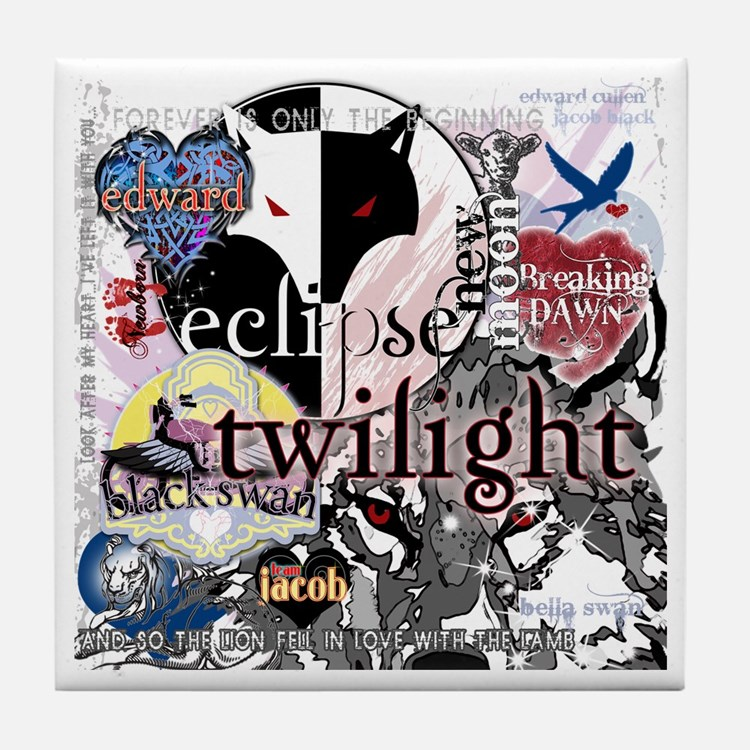 Twilight Ultimate Sampler by Twibaby Tile Coaster
