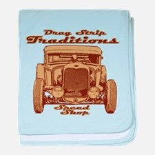 Drag Strip Traditions 1930 Fo baby blanket