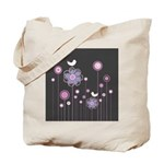 Trendy Floral Decor Tote Bag