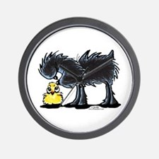 Affen n' Chick Wall Clock