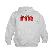 I'm The Boss Red Hoodie