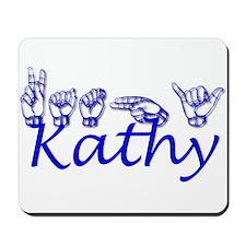 Kathy-bl Mousepad