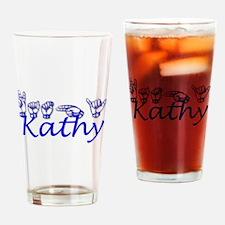 Kathy-bl Drinking Glass