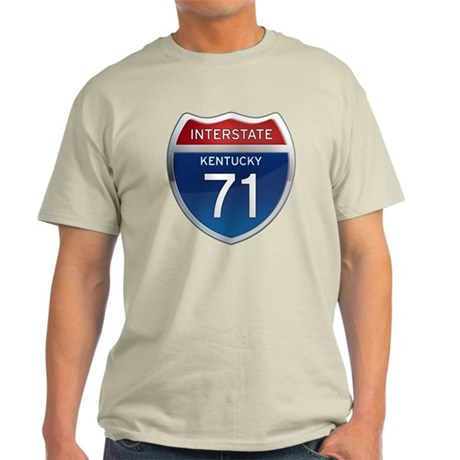 Interstate 71 - Kentucky Light T-Shirt