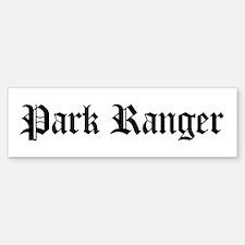 Park Ranger Bumper Bumper Bumper Sticker