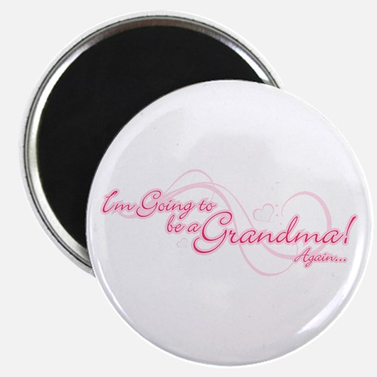 Going To Be A Grandma Again Magnet