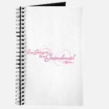 Going To Be A Grandma Again Journal