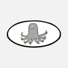 Octopus Handbells Patches