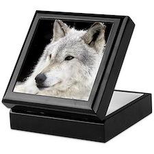 Eclipse Wolf Keepsake Box