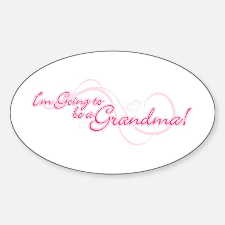 I'm Going To Be a Grandma Decal