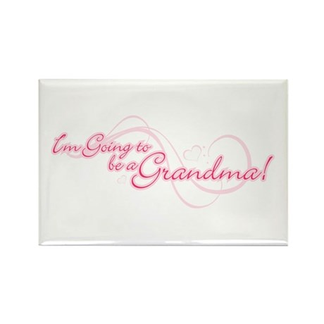 I'm Going To Be a Grandma Rectangle Magnet (10 pac