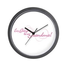I'm Going To Be a Grandma Wall Clock