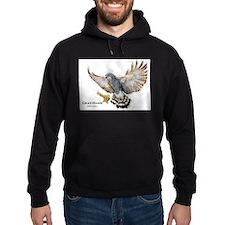 Gray Hawk Hoodie