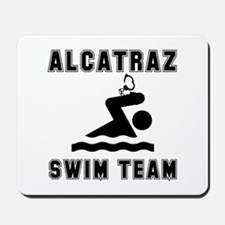 Alcatraz Swim Team Mousepad