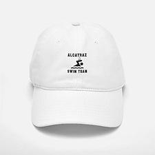 Alcatraz Swim Team Baseball Baseball Cap