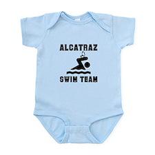 Alcatraz Swim Team Infant Bodysuit