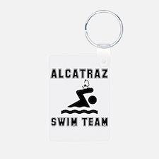 Alcatraz Swim Team Keychains