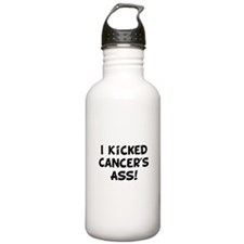 Kicked Cancer Water Bottle