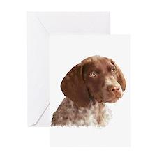 German Shorthair Puppy Greeting Card