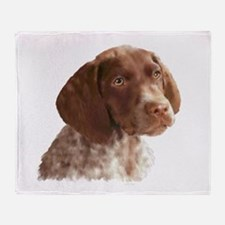 German Shorthair Puppy Throw Blanket