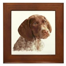 German Shorthair Puppy Framed Tile