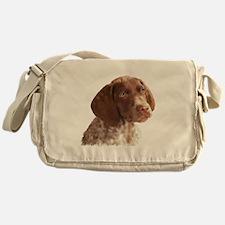 German Shorthair Puppy Messenger Bag