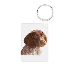 German Shorthair Puppy Keychains